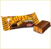 SUPER замес с карамелью и арахисом